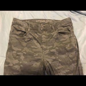 American Eagle Moto Camo Pants